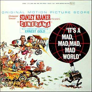 Ernest Gold: It's A Mad, Mad, Mad, Mad World - Cover