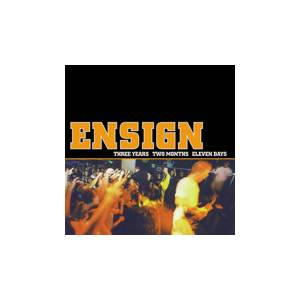 Cover - Ensign: Three Years Two Months Eleven Days