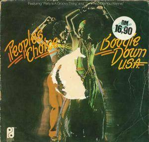Cover - People's Choice, The: Boogie Down U.S.A.