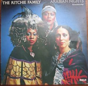 The Ritchie Family: Arabian Night - Cover