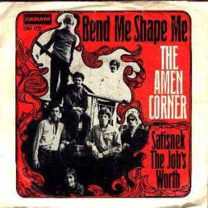 Amen Corner: Bend Me Shape Me - Cover