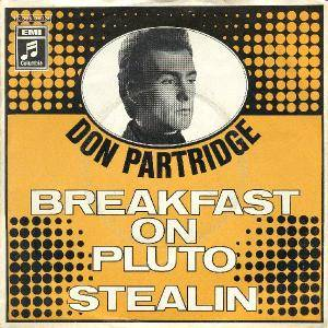 Cover - Don Partridge: Breakfast On Pluto