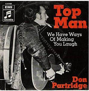 Cover - Don Partridge: Top Man