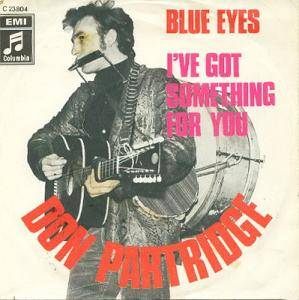 Cover - Don Partridge: Blue Eyes