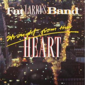 Cover - Fat Larry's Band: Straight From The Heart