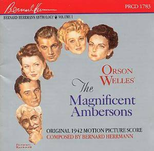 Cover - Bernard Herrmann: Magnificent Ambersons, The
