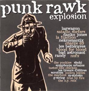 Cover - Symphonie Urbaine: Rock Sound (F) - Punk Rawk Explosion Vol. 08