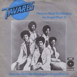 Tavares: Heaven Must Be Missing An Angel - Cover