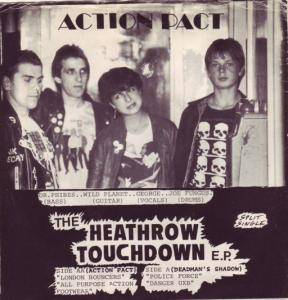 Cover - !Action Pact!: Heathrow Touchdown EP, The