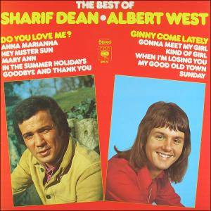 Cover - Sharif Dean: Best Of Sharif Dean - Albert West, The