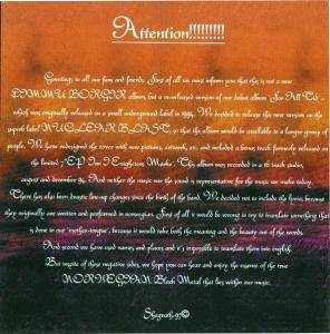 Dimmu Borgir: For All Tid (CD) - Bild 3