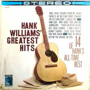 Hank Williams: Greatest Hits - Cover