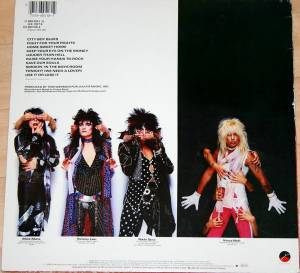 Mötley Crüe: Theatre Of Pain (LP) - Bild 2