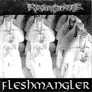 Cover - Regurgitate: Fleshmangler / Dicker Helmut