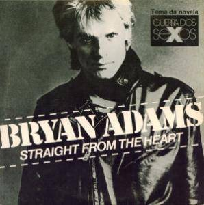 Bryan Adams: Straight From The Heart - Cover