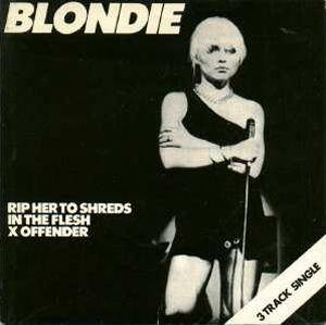 Blondie: Rip Her To Shreds - Cover
