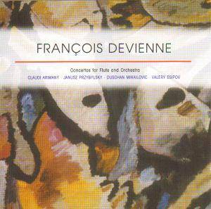 Cover - François Devienne: Concertos For Flute And Orchestra