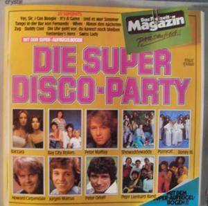 Super Disco-Party, Die - Cover