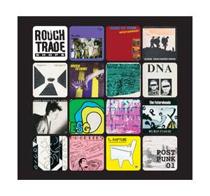 Rough Trade Shops - Post Punk 01 - Cover