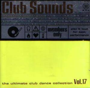 Club Sounds Vol. 17 - Cover
