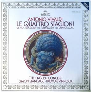 Antonio Vivaldi: Le Quattro Stagioni – The English Concert (LP) - Bild 1