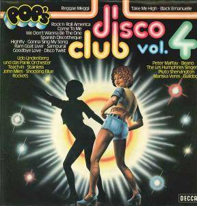Cover - Pluto Shervington: Disco Club Vol. 4
