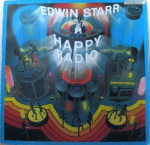 Cover - Edwin Starr: H.A.P.P.Y. Radio