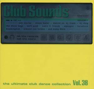 Cover - Ron van den Beuken: Club Sounds Vol. 38