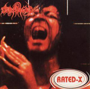 Deranged: Rated-X - Cover