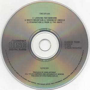 Genesis: Trespass (CD) - Bild 4