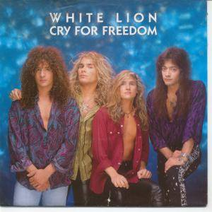 White Lion: Cry For Freedom - Cover