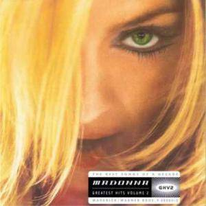 Madonna: Greatest Hits Volume 2 - Cover