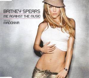 Britney Spears Feat. Madonna: Me Against The Music - Cover