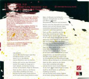 Herbert Grönemeyer: Die Härte (Single-CD) - Bild 3