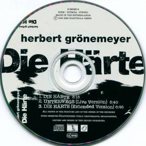 Herbert Grönemeyer: Die Härte (Single-CD) - Bild 4