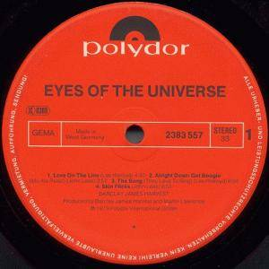 Barclay James Harvest: Eyes Of The Universe (LP) - Bild 3