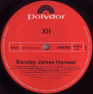 Barclay James Harvest: XII (LP) - Bild 3