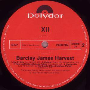 Barclay James Harvest: XII (LP) - Bild 4
