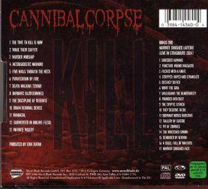 Cannibal Corpse: Kill (CD + DVD) - Bild 2