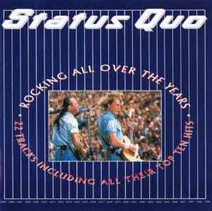 Status Quo: Rocking All Over The Years - Cover