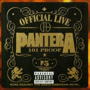 Pantera: Official Live: 101 Proof - Cover