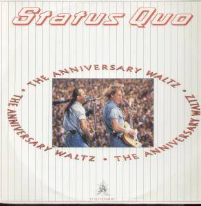 Status Quo: Anniversary Waltz, The - Cover