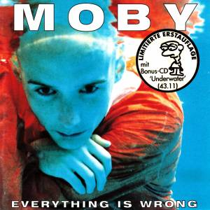 Moby: Everything Is Wrong - Cover