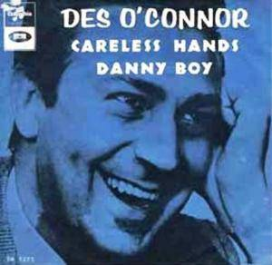 Cover - Des O'Connor: Careless Hands