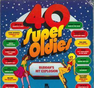 Cover - Brooklyn Bridge: 40 Super Oldies - Buddah's Hit Explosion