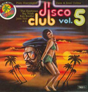 Cover - Pluto Shervington: Disco Club Vol. 5