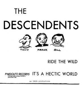 Cover - Descendents: Ride The Wild