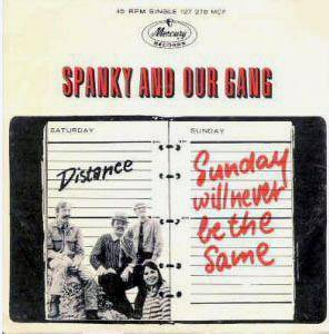 Cover - Spanky And Our Gang: Sunday Will Never Be The Same