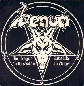Venom: In League With Satan - Cover