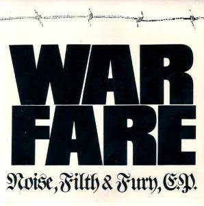 Cover - Warfare: Noise, Filth And Fury EP